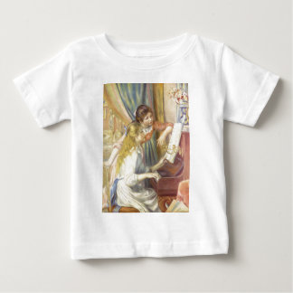 Two Girls at the Piano Infant T-shirt