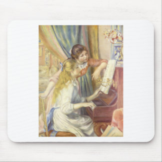 Two Girls at the Piano Mouse Pad