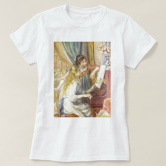 Two Girls at the Piano T-shirts