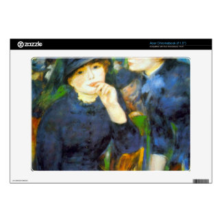 Two Girls by Pierre Renoir Acer Chromebook Skins
