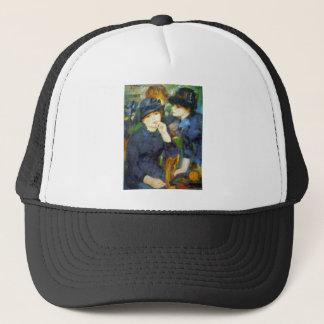 Two Girls by Pierre Renoir Trucker Hat