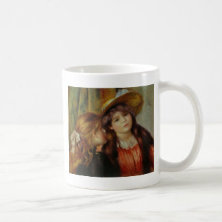 Two girls coffee mug