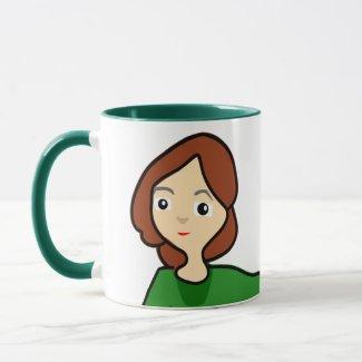 Two Girls Mug