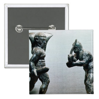 Two gladiators in combat button
