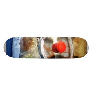 Two Glass Cookie Jars Skate Board Deck