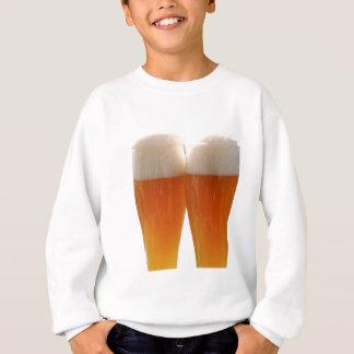 Two glasses of German weisse beer