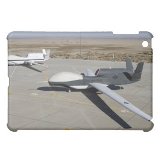 Two Global Hawks parked on a ramp Case For The iPad Mini