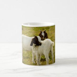 Two Goats Classic White Coffee Mug