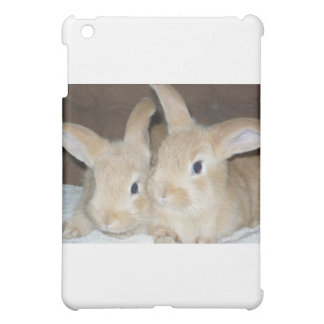 Two Golden Bunnies Case For The iPad Mini