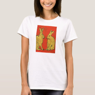 Two Golden Hares T-Shirt