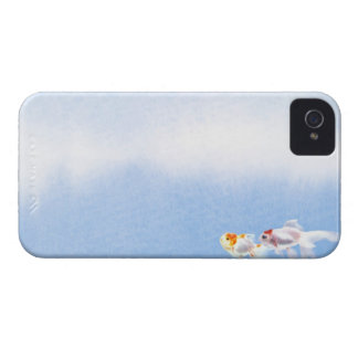 Two Goldfish iPhone 4 Cases