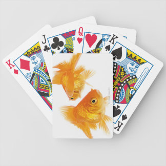Two Goldfish Crossing Each Other Bicycle Playing Cards