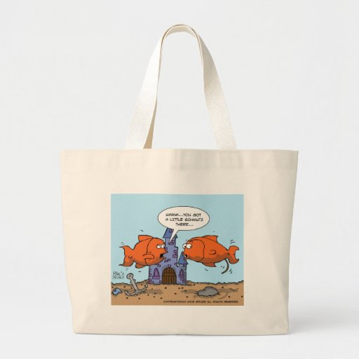 Two Goldfish--Friendship Canvas Bag