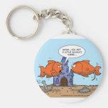 Two Goldfish--Friendship Keychain