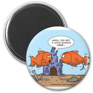 Two Goldfish--Friendship Fridge Magnets