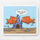 Two Goldfish--Friendship Mouse Pad