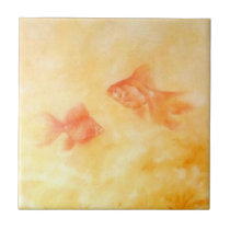 Two Goldfish Tile