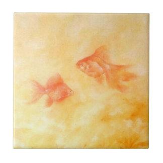 Two Goldfish Tile