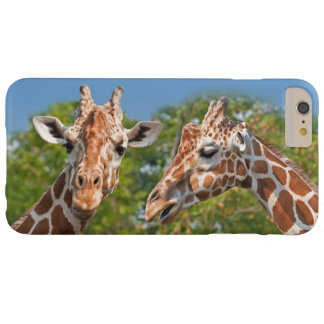 Two Gossiping Giraffes Barely There iPhone 6 Plus Case