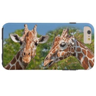 Two Gossiping Giraffes Tough iPhone 6 Plus Case