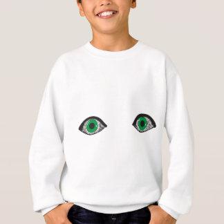 Two Green Eyes Sweatshirt