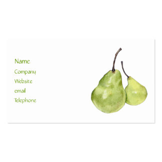 Two Green Pears Profile Card