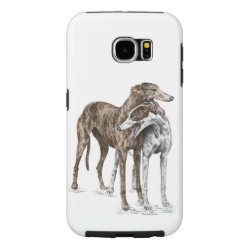 Case-Mate Barely There Samsung Galaxy S6 Case with Greyhound Phone Cases design