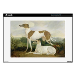 17' Laptop Skin for Mac & PC with Greyhound Phone Cases design