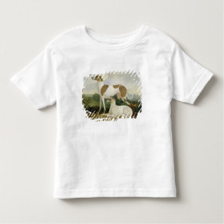 Two Greyhounds in a Landscape (oil on canvas) Toddler T-shirt