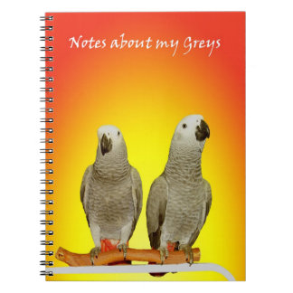 Two Greys Notebook