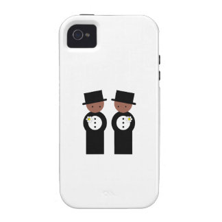 Two grooms vibe iPhone 4 covers