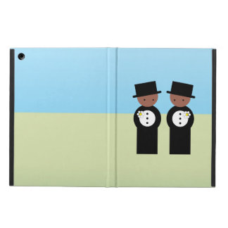 Two grooms case for iPad air