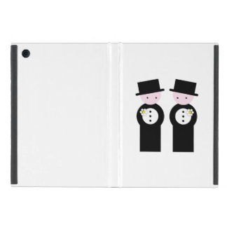 Two grooms cases for iPad mini