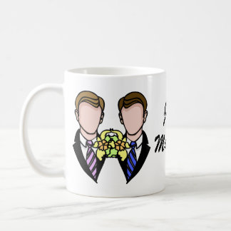 Two Grooms Coffee Mug