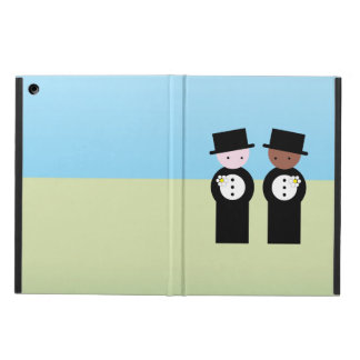 Two grooms cover for iPad air