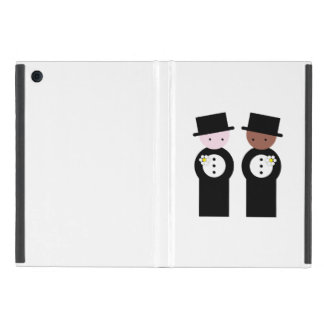 Two grooms covers for iPad mini