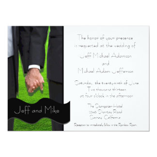 Gay Marriage Invitations Announcements Zazzle