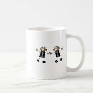 Two Grooms Dancing Happy Coffee Mug