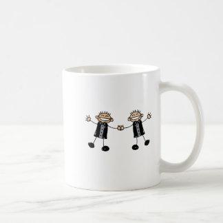 Two Grooms Dancing Happy Coffee Mugs