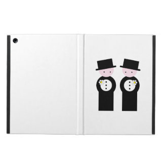 Two grooms iPad air cases