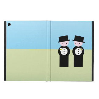 Two grooms iPad air covers