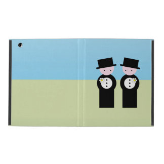 Two grooms iPad case