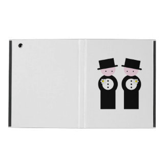 Two grooms iPad cases