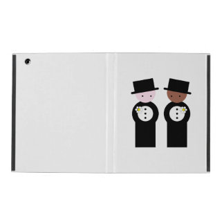 Two grooms iPad cover