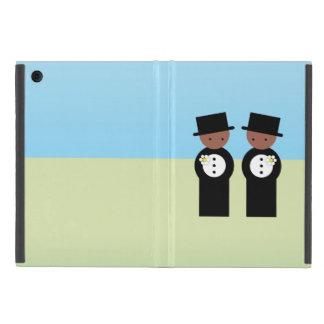 Two grooms iPad mini covers