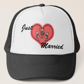 Two Grooms & Preacher Trucker Hat