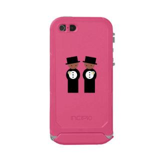 Two grooms waterproof iPhone SE/5/5s case