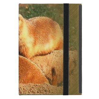 Two Groundhogs Coming Out On Groundhogs Day iPad Mini Cover