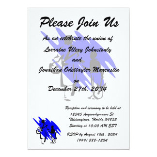two guitar players outline musician dr blue.png personalized invitation