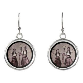 Two Gypsy Girls Earrings
